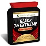 T5 BLACK EXTREME - Plus Fort Brûleur De Graisse Juridique ! * Perdez Jusqu'à 6 Kilos en 8 Semaines * ...