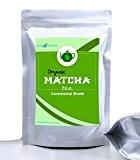 Thé Vert Matcha de Haute Qualité - en Poudre 100g - Green Tea pour smoothies, thé, mélange, cuisson, antioxydant, perte ...