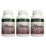 Thyromine Complément pour la thyroïde et pilule pour la perte de poids pour les gens avec de l'hypothyroïdie ~ 3 ...