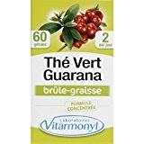 vitarmonyl Thé vert Guarana, cure brûle-graisse, gélules ( Prix Unitaire ) - Envoi Rapide Et Soignée