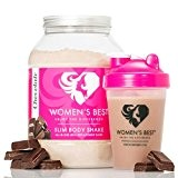 WOMEN'S BEST Slim Body Shake | substituts de repas | CHOCOLATE