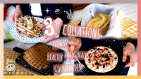 3 COLLATIONS HEALTHY, FITNESS, GOURMANDES