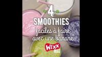 Smoothie à la banane :  4 recettes faciles à faire