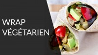 Wrap végétarien - Recette Healthy